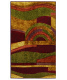 RugStudio presents Mohawk Home New Wave Picasso Wine Machine Woven, Good Quality Area Rug