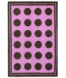 RugStudio presents Mohawk Home Woodgrain Fluffy Pink Machine Woven, Good Quality Area Rug