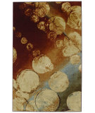 RugStudio presents Mohawk Home New Wave Rain Kaleidoscope Machine Woven, Good Quality Area Rug