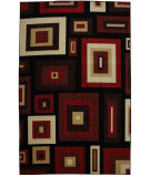 RugStudio presents Mohawk Home New Wave Russell Red Machine Woven, Good Quality Area Rug