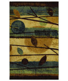 RugStudio presents Mohawk Home Free Flow Modern Forest Beige Machine Woven, Good Quality Area Rug