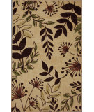 RugStudio presents Mohawk Home Free Flow Frondy Beige Machine Woven, Good Quality Area Rug