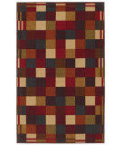 RugStudio presents Mohawk Home Free Flow Vibrant Blocks Multi Machine Woven, Good Quality Area Rug