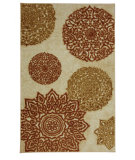 RugStudio presents Mohawk Home Strata Mandarin Star Beige Machine Woven, Good Quality Area Rug