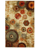 RugStudio presents Mohawk Home Strata Caravan Medallion Multi Machine Woven, Good Quality Area Rug