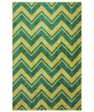 RugStudio presents Mohawk Home Strata Lascala Chevron Stripe Medium Blue Machine Woven, Good Quality Area Rug
