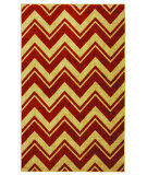 RugStudio presents Mohawk Home Strata Lascala Chevorn Stripe Rust Machine Woven, Good Quality Area Rug