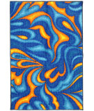 RugStudio presents Mohawk Home New Wave Atlantic Blue Machine Woven, Good Quality Area Rug