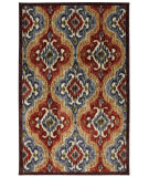 RugStudio presents Mohawk Home New Wave Primary Ikat Multi Machine Woven, Good Quality Area Rug