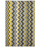 RugStudio presents Mohawk Home New Wave Ziggidy Yellow Machine Woven, Good Quality Area Rug
