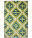 RugStudio presents Mohawk Home New Wave Becker Turquoise Machine Woven, Good Quality Area Rug