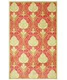 RugStudio presents Mohawk Home New Wave Elegant Ikat Hot Pink Machine Woven, Good Quality Area Rug