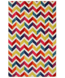 RugStudio presents Mohawk Home Strata Mixed Chevrons Pricm Machine Woven, Good Quality Area Rug