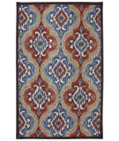 RugStudio presents Mohawk Home Outdoor/Patio Mystic Ikat Primary Machine Woven, Good Quality Area Rug