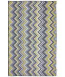 RugStudio presents Mohawk Home Outdoor/Patio Ella Zig Zag Yellow Machine Woven, Good Quality Area Rug