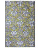 RugStudio presents Mohawk Home Strata Elegant Ikat Gold Machine Woven, Good Quality Area Rug