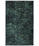 RugStudio presents Mohawk Home Strata Indie Pattern Blue Machine Woven, Good Quality Area Rug