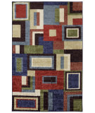 RugStudio presents Mohawk Home Strata Frame Multi Machine Woven, Good Quality Area Rug