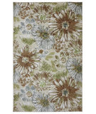 RugStudio presents Mohawk Home Strata Sunburst Floral Multi Machine Woven, Good Quality Area Rug