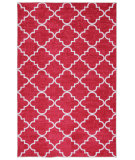 RugStudio presents Mohawk Home Strata Fancy Trellis Hot Pink Machine Woven, Good Quality Area Rug