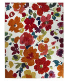 RugStudio presents Mohawk Home Strata Bright Floral Toss Multi Machine Woven, Good Quality Area Rug