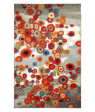 RugStudio presents Mohawk Home Strata Tossed Floral Multi Machine Woven, Good Quality Area Rug