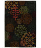 RugStudio presents Mohawk Home Kaleidoscope Sienna Dark Brown Machine Woven, Good Quality Area Rug