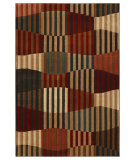 RugStudio presents Mohawk Home Kaleidoscope Linear Patchwork Multi Machine Woven, Good Quality Area Rug