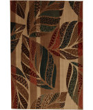 RugStudio presents Mohawk Home Kaleidoscope Quilted Leaves Multi Machine Woven, Good Quality Area Rug