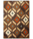 RugStudio presents Mohawk Home Aria Skene Coco Brown Machine Woven, Good Quality Area Rug