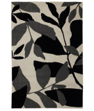 RugStudio presents Mohawk Home Versaille Botanical Black And White Machine Woven, Good Quality Area Rug