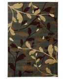 RugStudio presents Mohawk Home Versaille Whimsical Spring Slate Machine Woven, Good Quality Area Rug