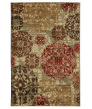 RugStudio presents Mohawk Home Cachet Stamped Medallions Multi Machine Woven, Good Quality Area Rug