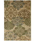 RugStudio presents Mohawk Home Cachet Abstract Lace Beige Machine Woven, Good Quality Area Rug