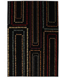 RugStudio presents Mohawk Home Cachet Arcade Black Multi Machine Woven, Good Quality Area Rug