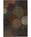 RugStudio presents Mohawk Home Aria Scribbles Ash Grey Machine Woven, Good Quality Area Rug