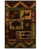 RugStudio presents Mohawk Home Pembroke Wyoming Rust Machine Woven, Good Quality Area Rug