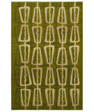RugStudio presents Mohawk Home Estate Abacus Green Machine Woven, Good Quality Area Rug