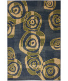 RugStudio presents Mohawk Home Estate Vertigo Blue Machine Woven, Good Quality Area Rug