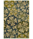 RugStudio presents Mohawk Home Estate Retro Medallion Beige Machine Woven, Good Quality Area Rug