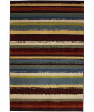 RugStudio presents Mohawk Home Estate Boho Stripe Multi Machine Woven, Good Quality Area Rug