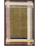 RugStudio presents Momeni Tuscany TU-03 Olive Green Hand-Knotted, Best Quality Area Rug