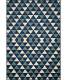 RugStudio presents Momeni Baja Baj-5 Blue Machine Woven, Good Quality Area Rug