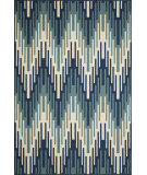 RugStudio presents Momeni Baja Baj-6 Blue Machine Woven, Good Quality Area Rug