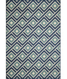 RugStudio presents Momeni Baja Baj-7 Blue Machine Woven, Good Quality Area Rug