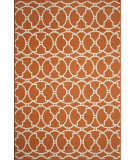 RugStudio presents Rugstudio Sample Sale 87522R Orange Machine Woven, Good Quality Area Rug