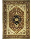 RugStudio presents Momeni Bergamo Bg-05 Rust Hand-Knotted, Best Quality Area Rug