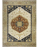 RugStudio presents Momeni Bergamo Bg-06 Ivory Hand-Knotted, Best Quality Area Rug