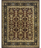 RugStudio presents Momeni Bergamo Bg-10 Burgundy Hand-Knotted, Best Quality Area Rug