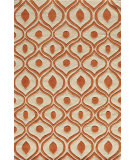 RugStudio presents Momeni Bliss Bs-09 Orange Hand-Knotted, Good Quality Area Rug